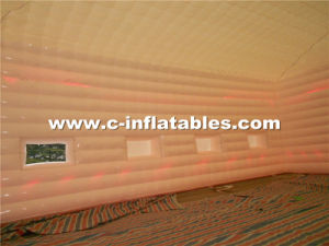 Giant Inflatable Cube Tent with LED Lighting for Event Customized pictures & photos