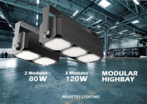 80W IP65 0-10V Dimming Modular Highbay Light with UL&Dlc pictures & photos