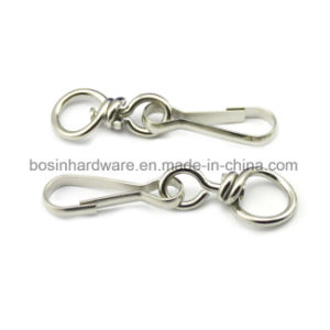 Metal Swivel Lanyard Clip Buckle for ID Card pictures & photos