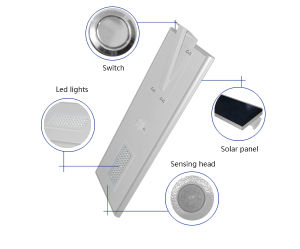 50W, 60W Integrated Solar LED Street Light with Good Price pictures & photos
