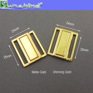 Nickle Free Fashion Swimwear Alloy Metal Buckle Accessories pictures & photos