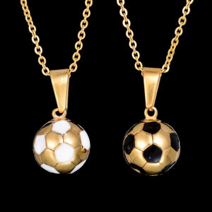 Hottest Sports Jewelry Chain Titanium Football Pendant Necklace pictures & photos