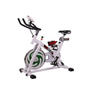 High Quality Slimming Equipment Indoor Gym Equipment White spinning Exercise Bike