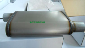 5′′x11′′ Oval Car Exhaust Muffler 3′′ Center /3′′ Offset Universal for Truck pictures & photos