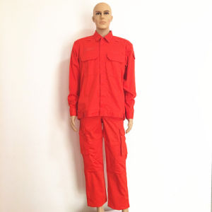 Twill Yard Fireproof Proban Hi-Vis Garment Workwear with Zipper and Magic Tape pictures & photos