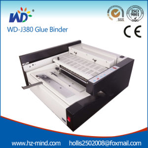 Automatic Perfect Glue Binder (J380) Glue Binding Machine pictures & photos