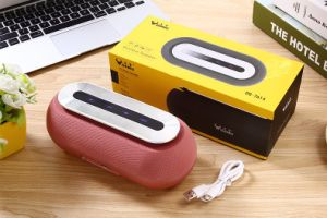 Fabric Portable Wireless Bluetooth Speaker Daniu Ds-7614 with Touch Control (AUX/Bluetooth /FM/TF card) pictures & photos