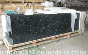 Black Granite Countertop Emerald Pearl pictures & photos