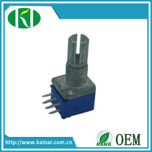 9mm Stereo Rotary Potentiometer with 6 Pins Wh9011A-2 pictures & photos
