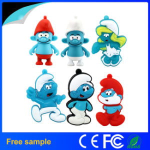 Cartoon Blue Wizard Demon USB Flash Drive Memory Stick pictures & photos