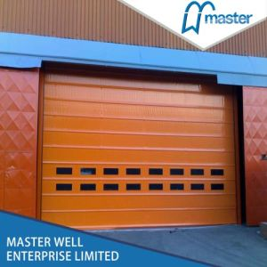 Fast Roller Shutter for Industrial Usage/ High Speed Roller Shutter with PVC Curtain pictures & photos