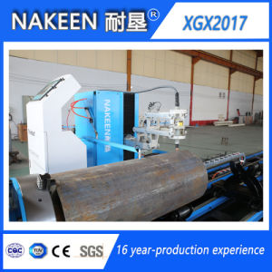 Five Axis CNC Intersection Line Pipe Cutting Machine pictures & photos