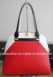 PU Handbag, hit color designed for office lady WT0069-1
