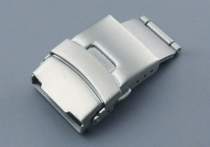 316L Stainless Steel Watch Strap Clasp Brushed Deployment Watch Band Buckle Watch Clasp pictures & photos