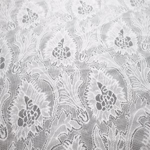 China Textile Knitted Chemical Mesh Lace Fabric pictures & photos