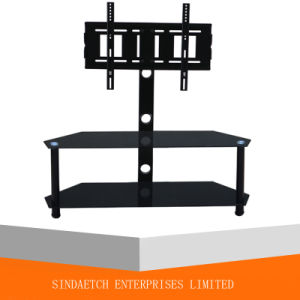 Glass Living Room Stand with Bracket pictures & photos