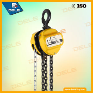 Ck 1ton Manual Chain Pulley Block pictures & photos