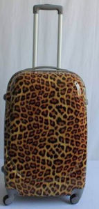 New Design Fashionable ABS / PC Leopard Printed Trolley Travel Luggage pictures & photos