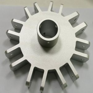 Customized CNC Machining Umbrella Metal Parts with Sand Blasting pictures & photos