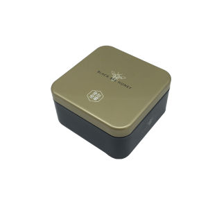 Square Honey Chocolate Food Tin Conatianer for Promotion pictures & photos