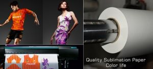 "Skyimage Fb 70grs. 44"" Quick Dry Sublimation Transfer Paper Chinese Supplier for Textile Inkjet Printing pictures & photos"
