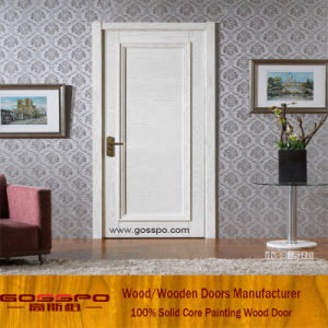 White Paint MDF Security Front Wooden Door (GSP8-031) pictures & photos