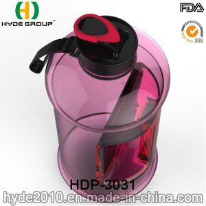 Portable Christmas BPA Free 2.2L Plastic Water Bottle, Customized Big Size PETG 2.2L Water Bottle (HDP-3031) pictures & photos