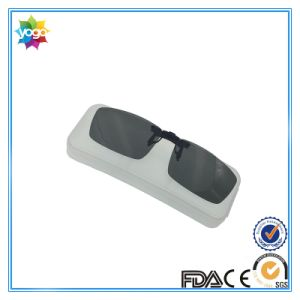 Unique Designer Square Lense Polarized Clip on Sunglasses pictures & photos