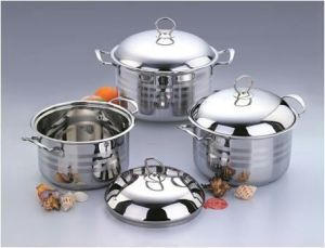 Large Size Stainless Steel Cooking/Soup Pot Set in 32cm pictures & photos