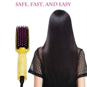 Showliss Newest Design Hair Straightening Brush with Gift Box pictures & photos