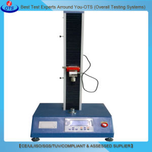 Single Column Electronic Single Column Tensile Strength Testing Machine pictures & photos