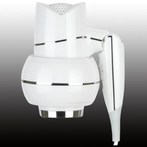 Newest Professional White Wall Mounted Hair Dryer Hotel bathroom Hair Dryer pictures & photos