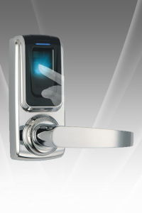 RF Card WiFi Bluetooth Remote Fingerprint Door Lock pictures & photos
