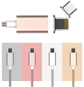 Popular Promotional Gift Magnetic USB Data Cable Blind Charging for iPhone pictures & photos