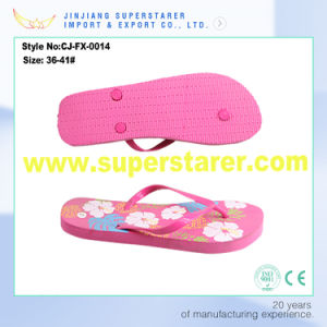 Cheap High Quality Flip Flop, PE Flip Flop Women pictures & photos