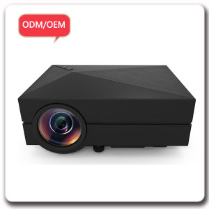 Customize Logo AV USB VGA SD HDMI Big Screen LCD Projector pictures & photos