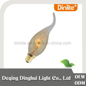 Candle flame E14 25W antique filament bulb for pendant lamp pictures & photos