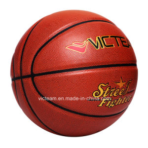 Entry Level Wear-Resisting Exercise Basketball OEM pictures & photos
