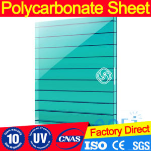 Custom Colors Hollow Polycarbonate Roofing Sheet with UV Protection pictures & photos