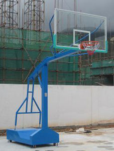 "Basketball Equipment Official Basketball Shelf with 72"" Basketball Backboard pictures & photos"