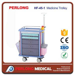 Hf-45-1 Hospital Furniture Equipment Medicine Trolley pictures & photos
