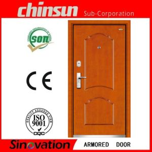 High Security and Quality Automatic Open Style Armored Door (SV-A008) pictures & photos