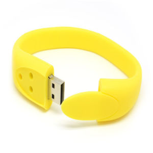 Best Price Wristband Bracelet USB Flash Disk for Promotion pictures & photos
