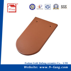 Fish Scale Type Colorful Ceramic Roof Tile Clay Roofing Tile Building Material pictures & photos