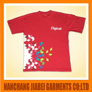 100% Cotton Cheap Price Men′s T-Shirt with Printing