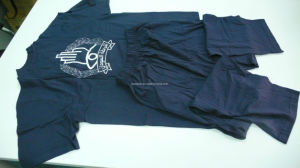 Dark Blue Track Suit/Jogging Suit for Police (V1705) pictures & photos