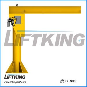 Free Standing Electric Kbk Jib Crane pictures & photos