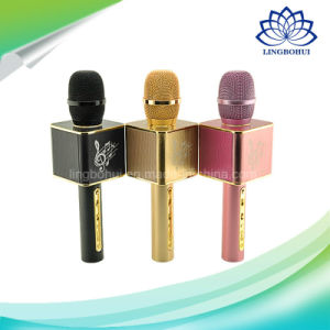 Portable Professional Wireless Bluetooth Karaoke KTV Microphone Mini Speaker pictures & photos