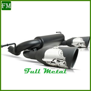 Exhaust Muffler with Two Pipes for Jeep Jk Wrangler pictures & photos