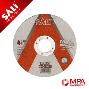Sali Brand Reinforced Stainless Steel Abrasive Inox Cut off Wheel pictures & photos